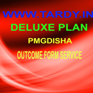 Pmgdisha Outcome Form Service Deluxe Plan